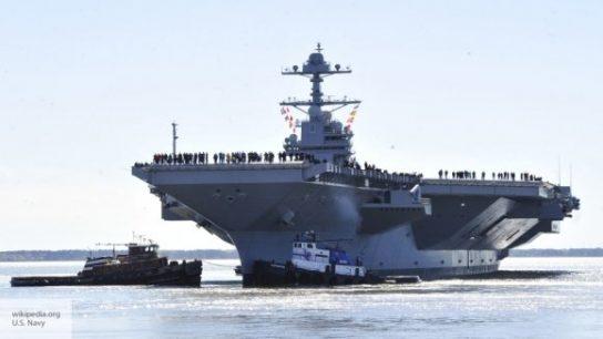 Авианосец США «Джеральд Р. Форд» не сможет встать на вооружение до 2022 года
