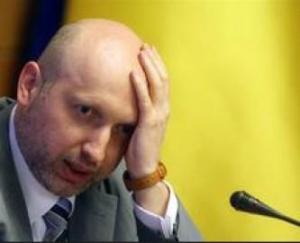 Украинские радикалы обвинили Турчинова в чрезмерной любви к России