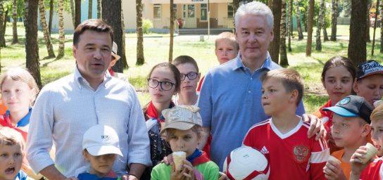 Собянин и Воробьев проконтролируют организацию детского отдыха