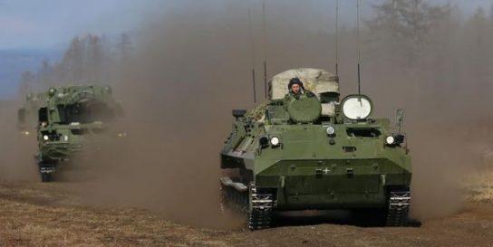 Российские десантники получили комплекс ПВО «Барнаул-Т»