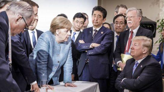 Трамп покинул встречу лидеров стран G7 со скандалом