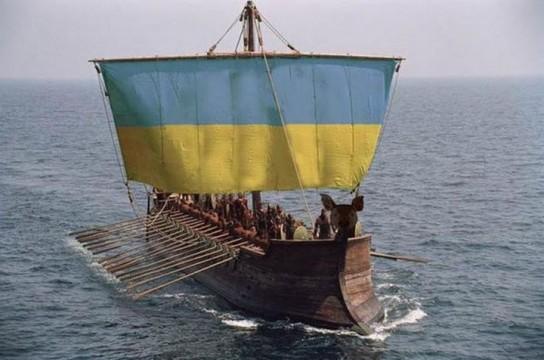 В случае конфликта с Россией, украинский флот будет потоплен прямо у пирса