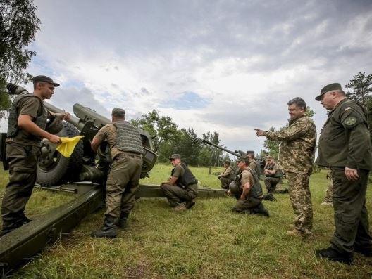 Украинские каратели продолжают окружение Горловки несмотря на потери