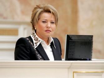 Валентина Матвиенко оценила успехи России в Сирии