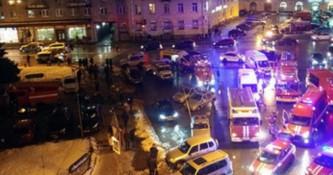 Подробности взрыва в магазине «Перекресток» в Петербурге