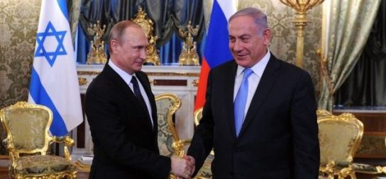 Владимир Путин обсудит с Биньямином Нетаньяху ситуацию в Сирии