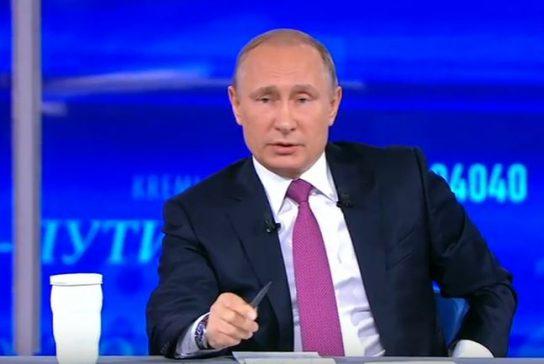 «Прямая линия с Владимиром Путиным» впервые пройдет без зрительного зала