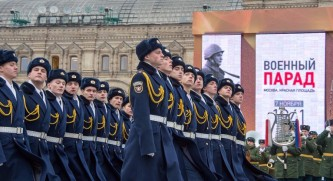 На Красной площади состоялся торжественный марш в честь 76-й годовщины военного парада 1941 года