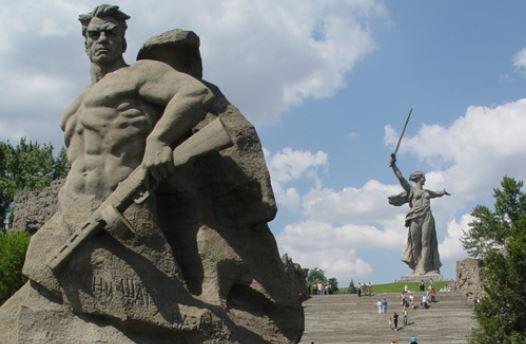 Волгоград празднует 75-летие победы в Сталинградской битве