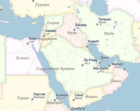 Арабские дрязги мешают США в борьбе с Ираном и ИГ