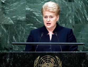Грибаускайте обвинила Россию в подготовке к захвату Прибалтики