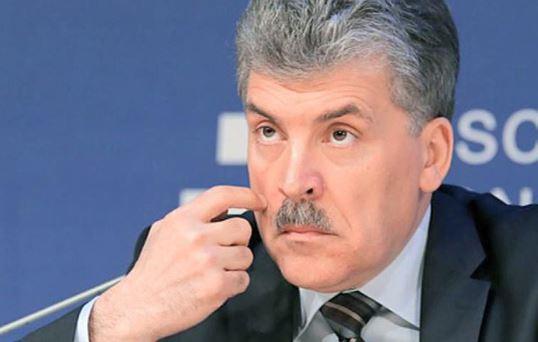Штаб Грудинина отправил в Донбасс продукты недоеденные крысами