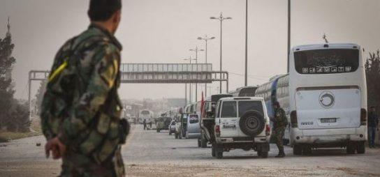 После вывода мирных жителей из Восточной Гуты оставшиеся боевики решили сдаться