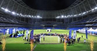 Стадион «Динамо» планируется ввести в эксплуатацию в апреле 2018 года