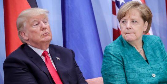 Дональд Трамп устроил очень холодный прием Ангеле Меркель