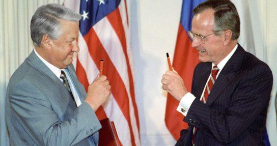 Daily Telegraph: Буш хотел передать военные технологии США Ельцину