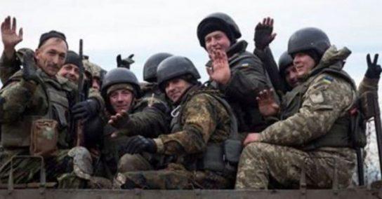 «Закарпатский легион» покинул зону конфликта в Донбассе в полном составе
