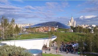 Парк «Зарядье» открылся для посетителей