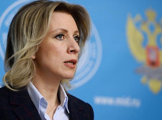 Захарова: Заявление Мосийчука можно расценивать как призыв к совершению теракта