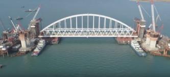 В Крыму назвали пиар-акцией иск Порошенко к Керченскому мосту