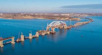 Мост через Керченский пролив получил название «Крымский»