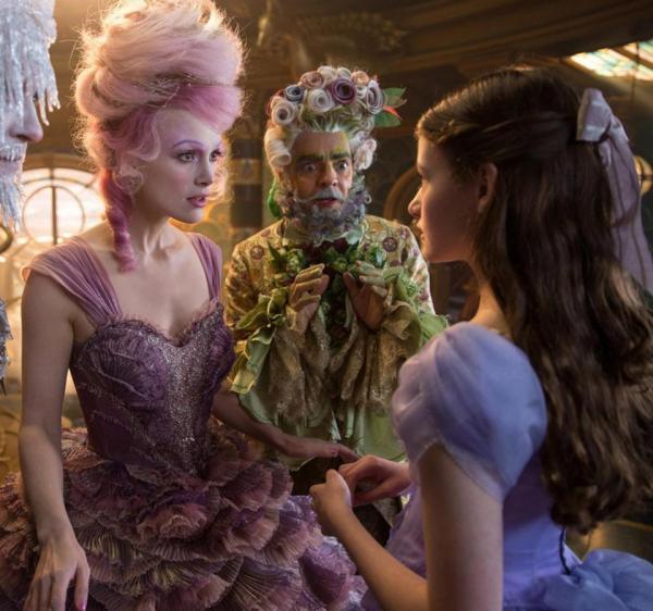 Кира Найтли превратилась в фею с розовыми волосами