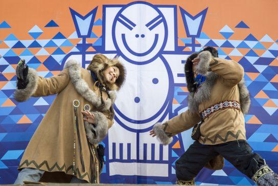 Возрождённый «Корфест» собрал сотни жителей Чукотки на льду Анадырского лимана