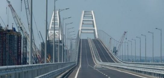 Украинский блогер проинспектировал Крымский мост