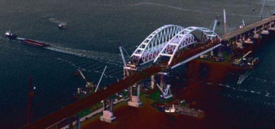 Украина заявила, что Крымский мост навредит Грузии