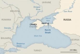 Киев: NYT должна пририсовать Крым к карте Украины