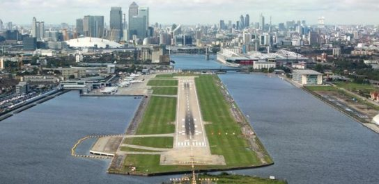 Аэропорт Лондон-Сити закрыт из-за бомбы времен Второй мировой войны