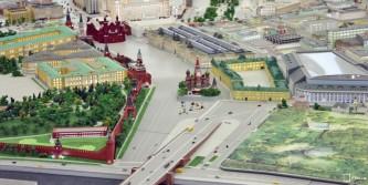 Макет Москвы на ВДНХ пользуется большой популярностью