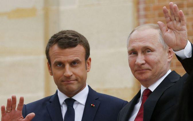 Макрон назвал Россию сильным лидером международной арены