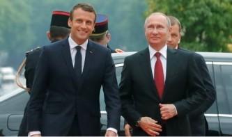 Путин пригласил Макрона посетить Россию