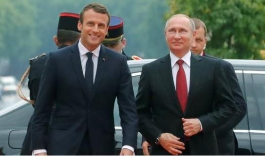 МИД Франции: У Макрона и Путина прекрасные отношения