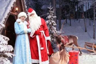 Простые украинцы выбирают российского Деда Мороза и Снегурочку
