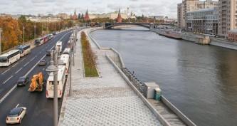 Собянин объявил о завершении благоустройства исторического центра Москвы