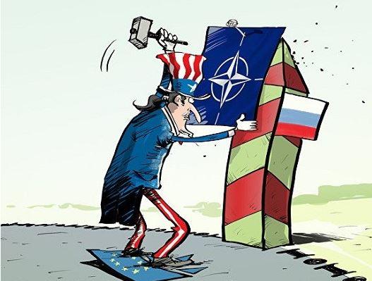США подталкивают НАТО к конфронтации с Россией