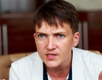 Савченко рассказала о своих планах работать в ДНР и ЛНР