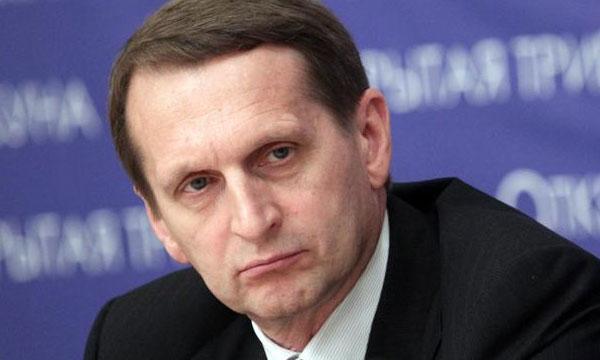 Нарышкин назвал «дипломатическую войну» против России грязной провокацией