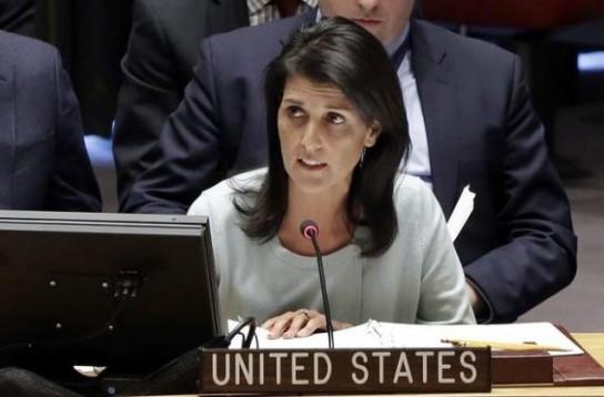 Никки Хейли: США никогда не снимут санкции с России