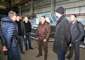Полпред Президента в Дальневосточном округе Юрий Трутнев прибыл с рабочим визитом на Чукотку
