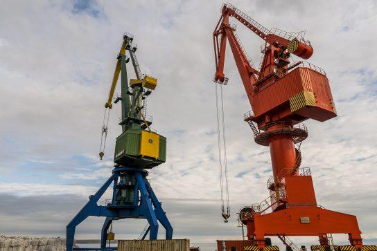 Роман Копин посетил важнейшие инфраструктурные объекты Певека в рамках рабочей поездки в самый северный город России