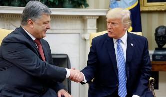 Петр Порошенко дал взятку Дональду Трампу