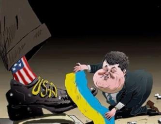 Украина призналась, что полностью оккупирована США