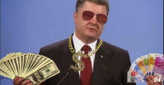 Украина нагло «зарабатывает» на антироссийских санкциях