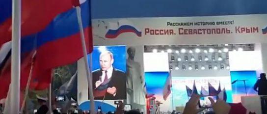 Путин: Крым показал всему миру истинную демократию