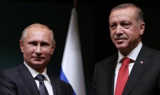 Путин поздравил президента Турции с переизбранием