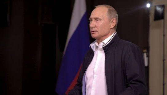 Путин поздравил выпускников с окончанием школы