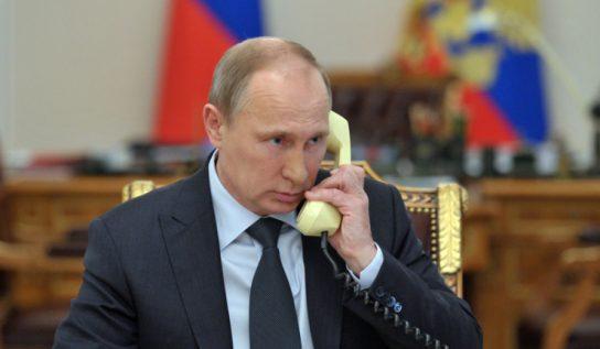 Путин и Эрдоган обсудили турецкую военную операцию в Сирии